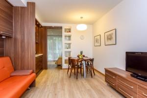 40 m² Double apartment with terrace. 1st cottage, apartment No. 1