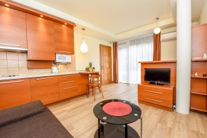 40 m² Double apartment with terrace. 2nd cottage, apartment No. 1